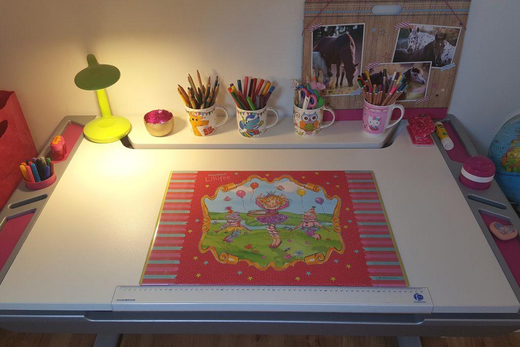 Unser PAIDI-Schreibtisch Tablo