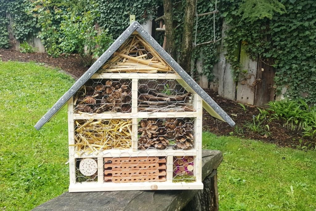 Wir basteln Insektenhotels