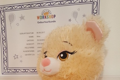 Unser BUILD-A-BEAR-Workshop