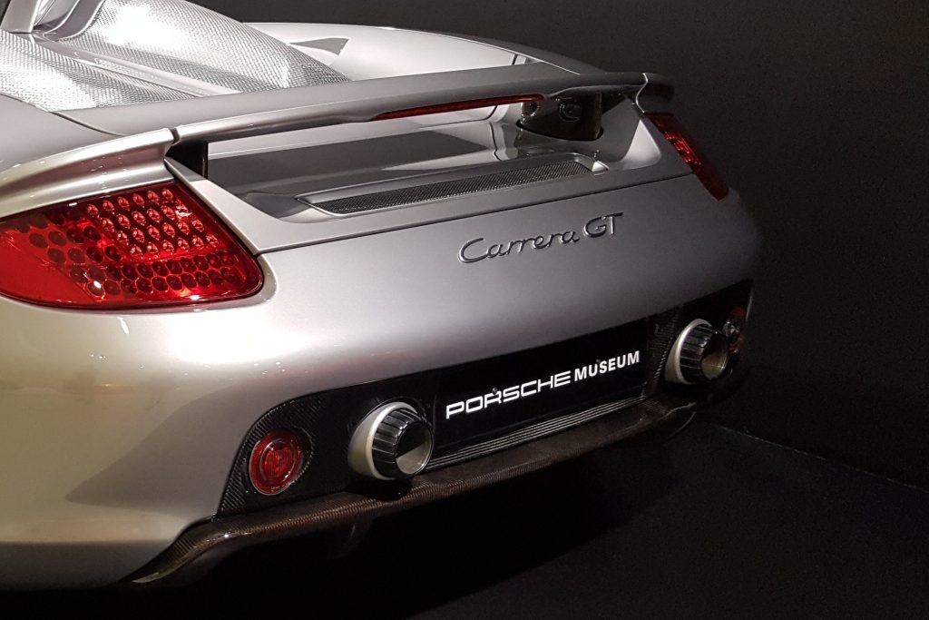 Boxenstopp im Porsche-Museum