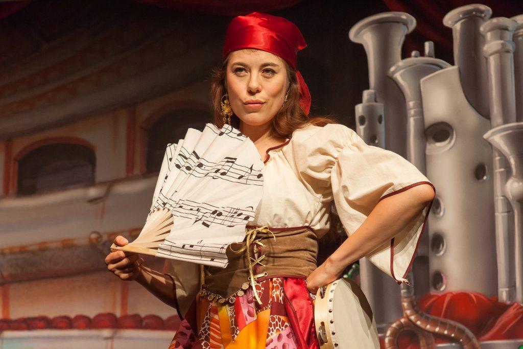 Opernsängerin Tanja Hamleh berührt mit TourneeOper für Kinder