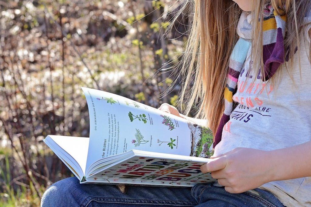 Lernen ist lesen. Lesen verbindet.