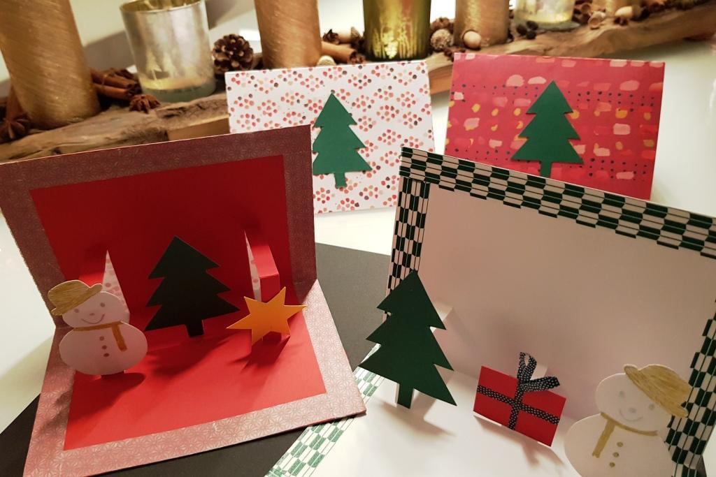 pop up weihnachtskarten basteln mama im l ndle. Black Bedroom Furniture Sets. Home Design Ideas