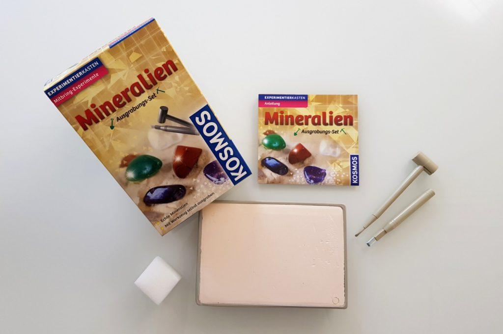 Mineralien-Ausgrabungsset von Kosmos