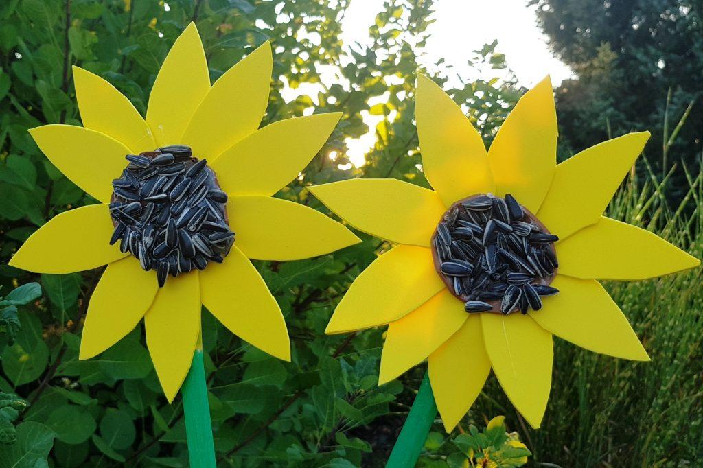 DIY: Sonnenblumen aus Moosgummi