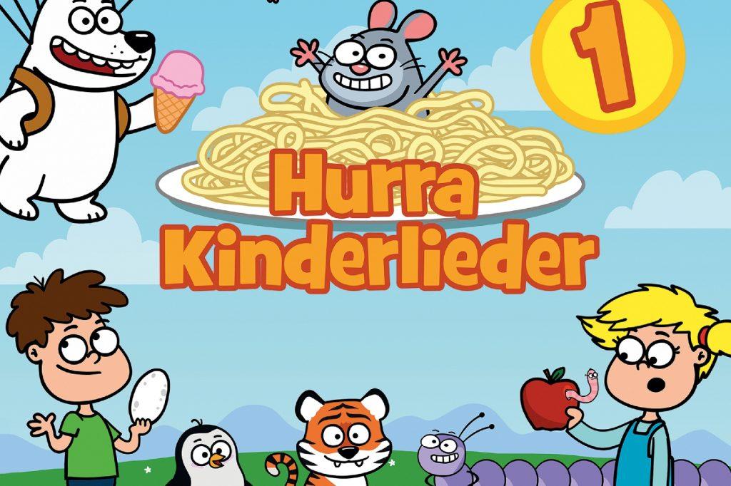 Hurra Kinderlieder – Lustige Songs zum Hören und Anschauen