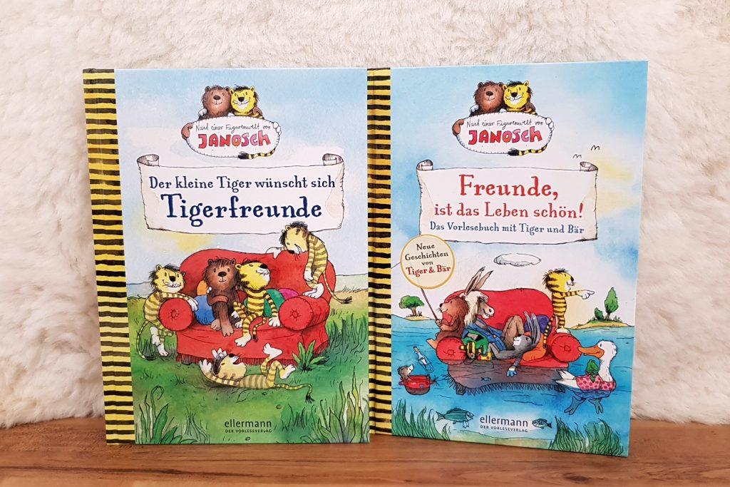 Endlich sind sie da! Die neuen Abenteuer von Tiger & Bär