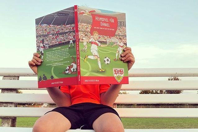 Personalisierte Fußballfan-Bücher