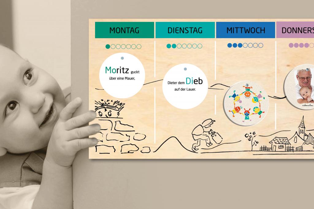 Siebenschau – Der kreative Wochenkalender für Kids