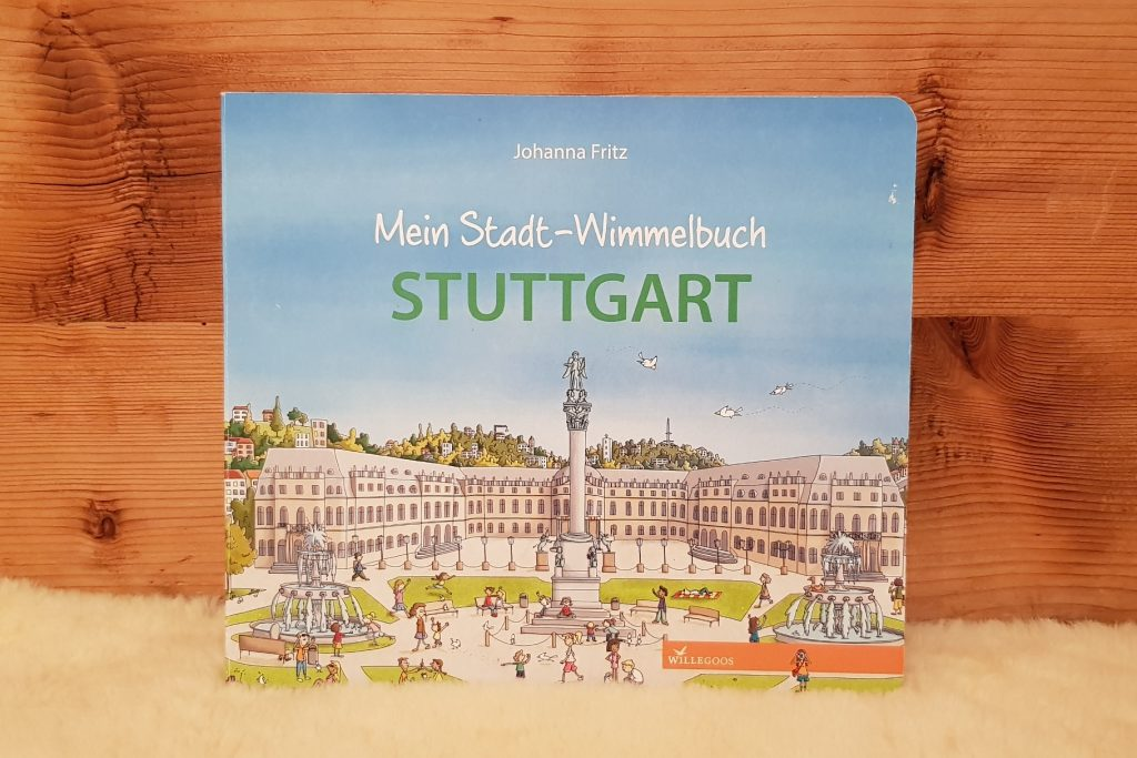 Ein Wimmelbuch für Stuttgart-Fans