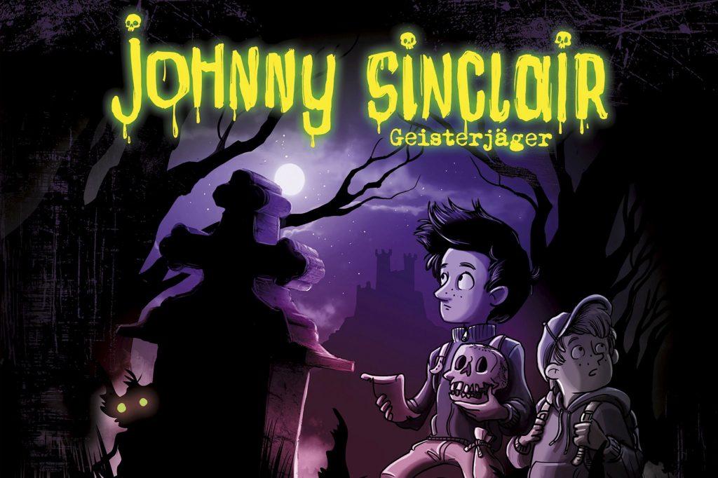 Die neue Grusel-Hörspielreihe mit Geisterjäger Johnny Sinclair