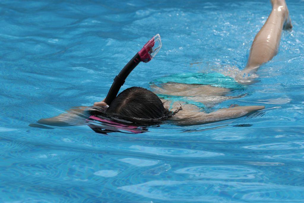 Gut ausgerüstet ins Schwimmbad