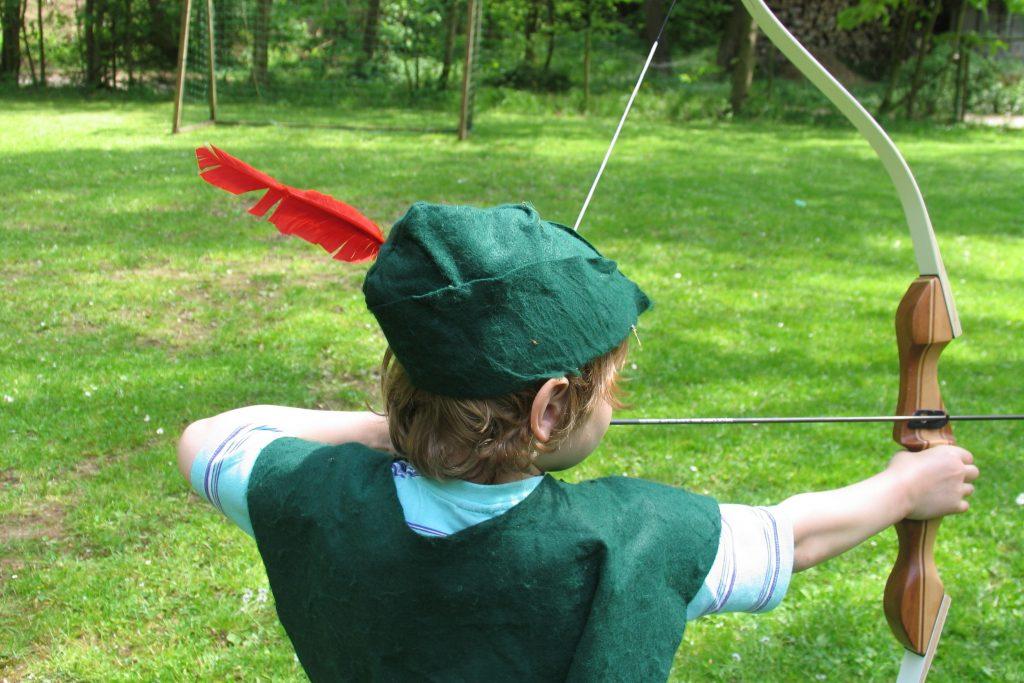 Faszination Bogenschießen für Kinder