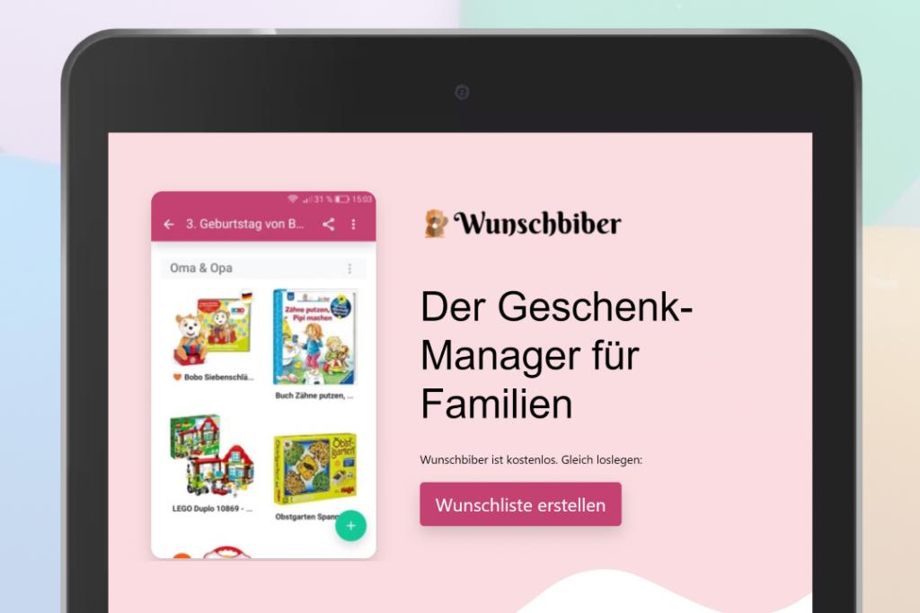 Wunschbiber: Die Geschenke-Manager-App